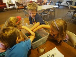 Science fun at Vacation Bible School