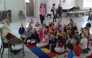 """Queen Esther"" telling the story of the celebration of Purim"