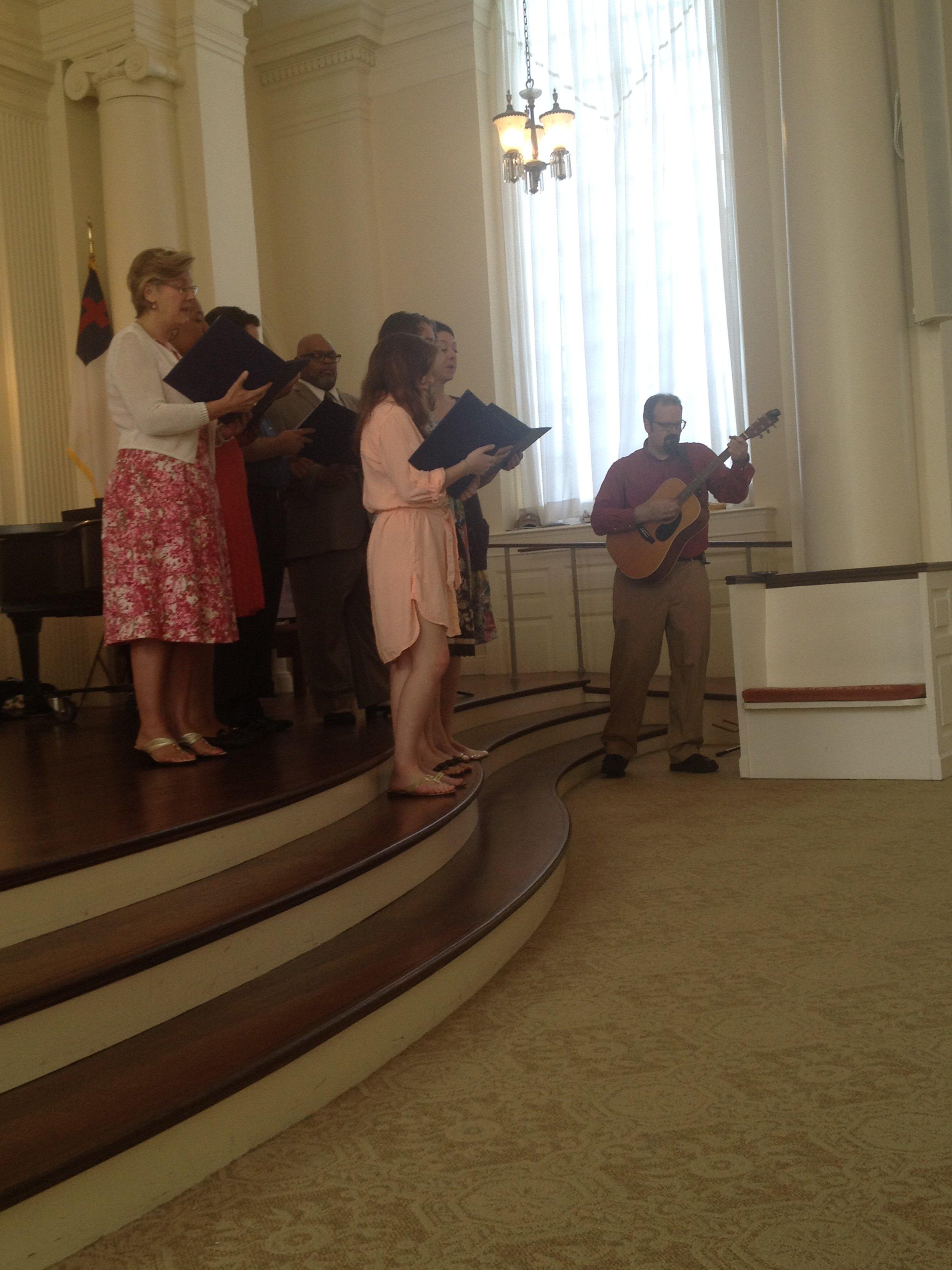 Summer Worship musicians