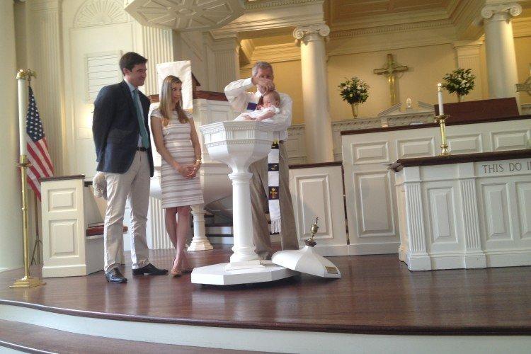 Baptism of Paige Alden Ortel