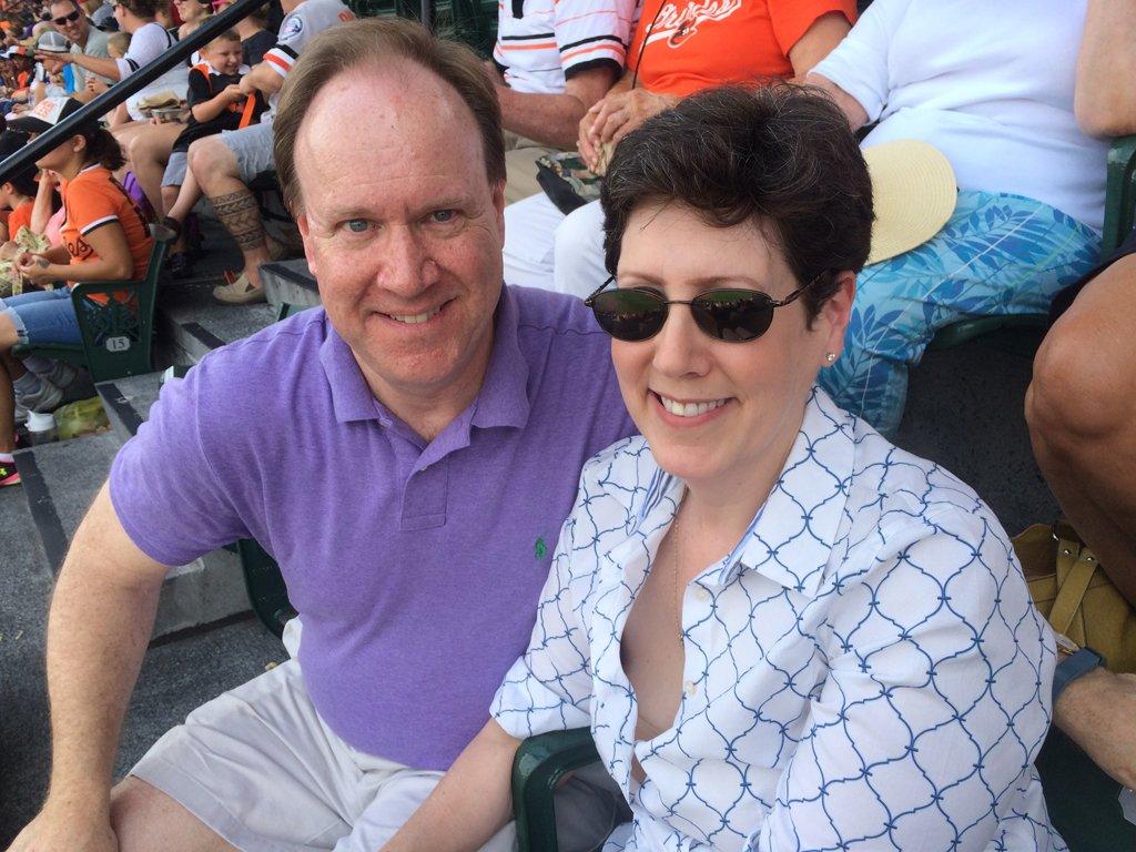 Ray & Shay at the O's Game