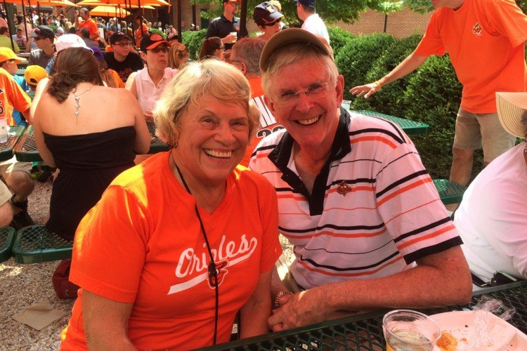 Harriette & Garland at the O's