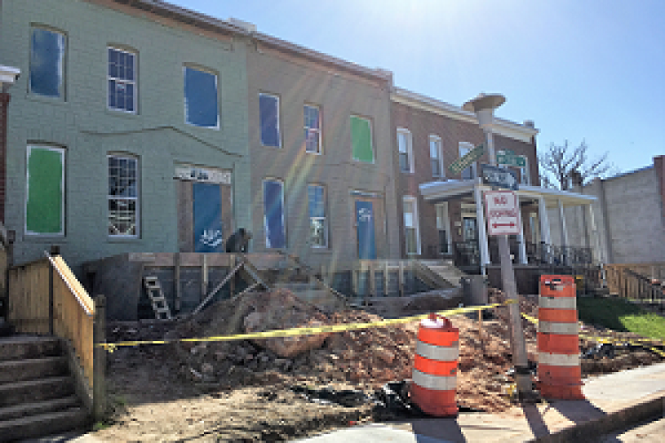 McCabe Avenue houses being renovated by Habitat for Humanity