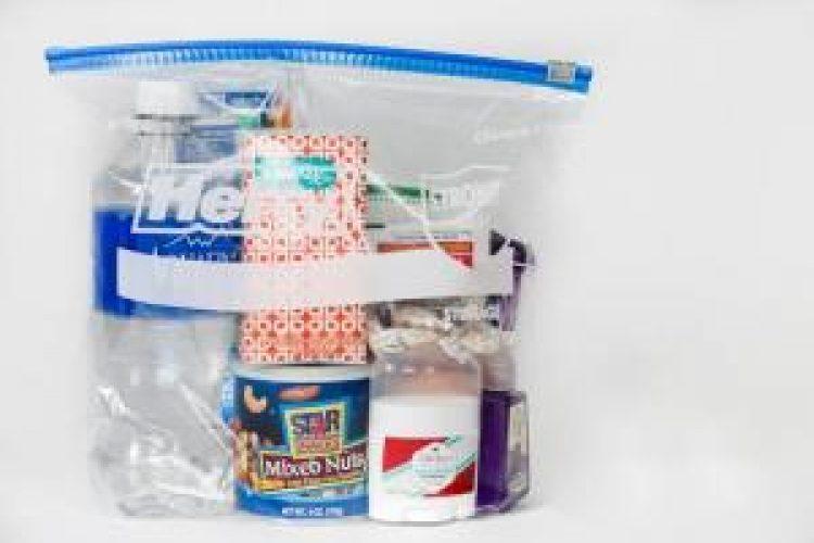 """""""Gallons of Love"""" homeless kit"""
