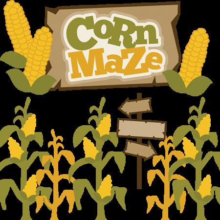 Corn Maze clip-art image