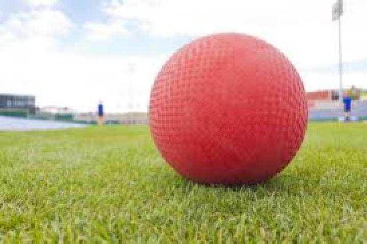 red kickball