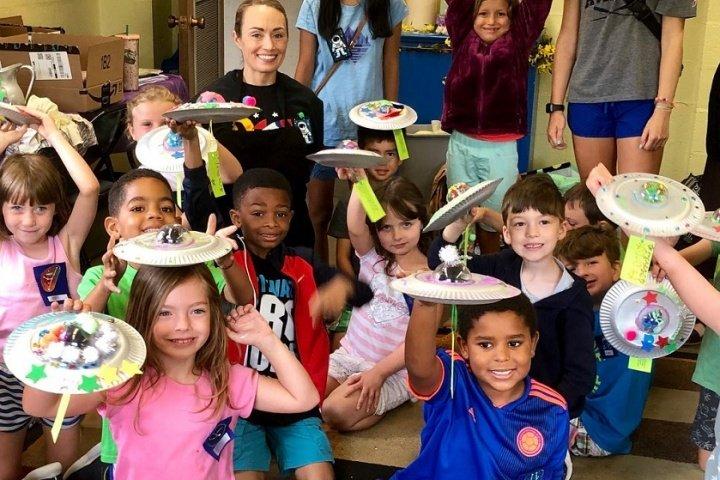 Vacation Bible School children